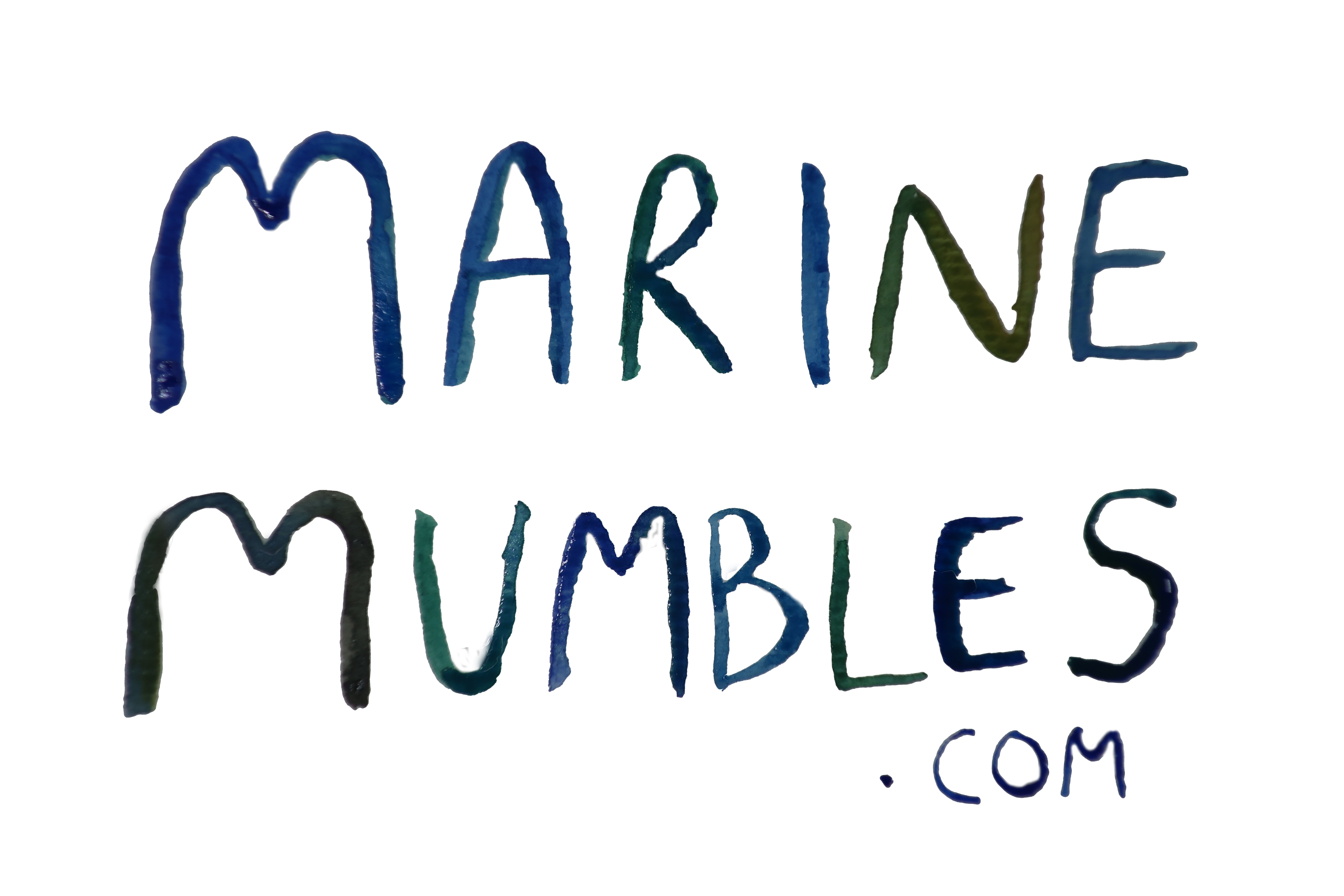 Mumbles from a Marine Biologist